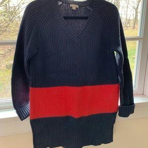 GAP Knit/Felt Oversized Sweater- size XS